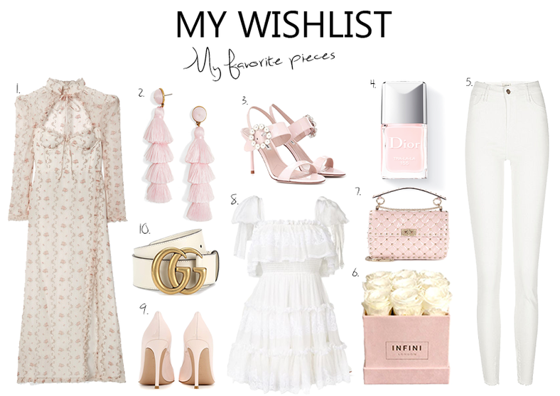 My Wishlist Beautiful Pieces for Summer..