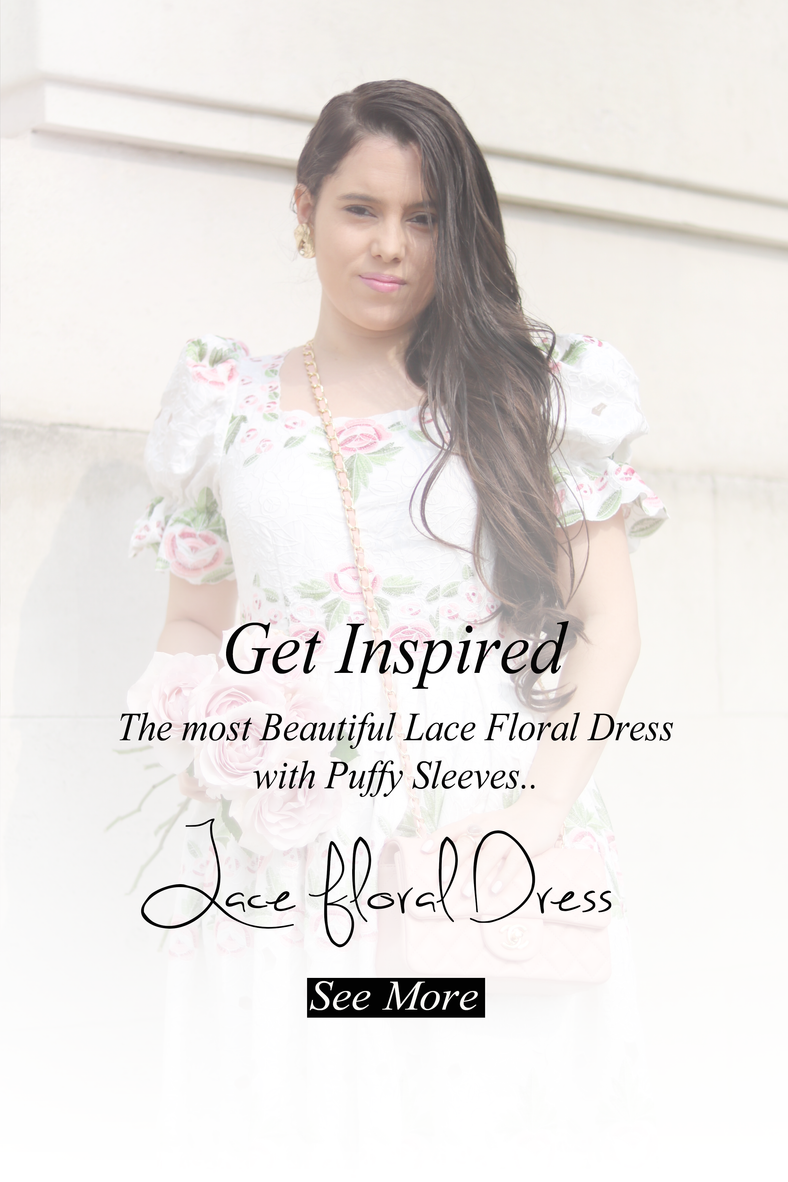 Lace Floral Dress..