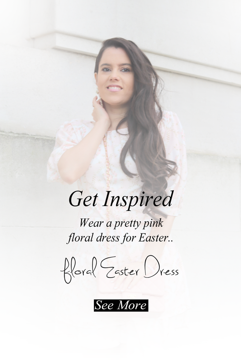 The prettiest Floral Dress for Easter.