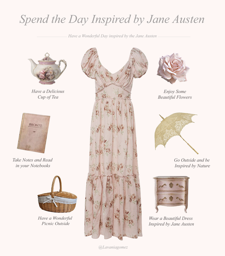 HOW TO SPEND THE DAY INSPIRED JANE AUSTEN
