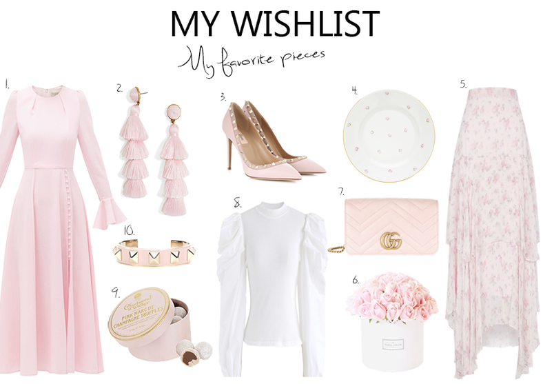 My Wishlist Beautiful Pink pieces for Valentine's Day..