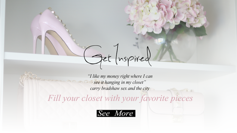 Fill your closet with your favorite pieces..