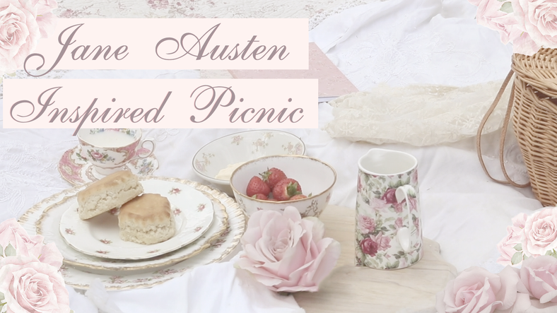 HOW TO CREATE A WONDERFUL JANE AUSTEN INSPIRED PICNIC