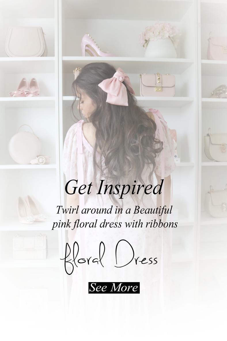 Romantic Floral Dress..