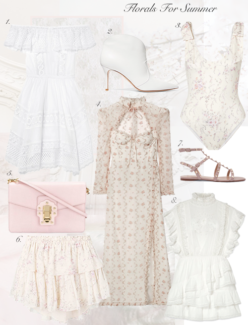 Florals For Spring and Summer..