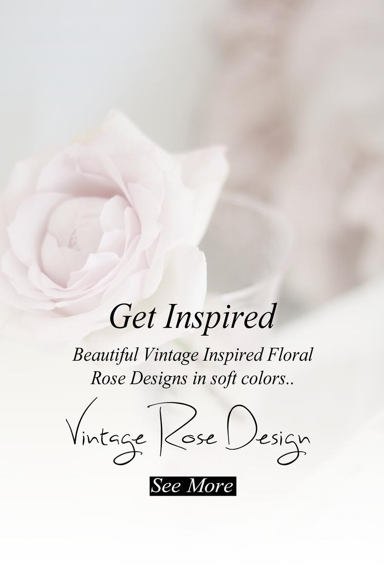Beautiful Vintage Rose Design..