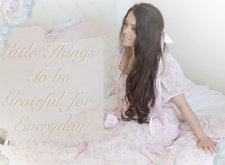 LITTLE THINGS TO BE GRATEFUL FOR EVERYDAY YOUTUBE VIDEO