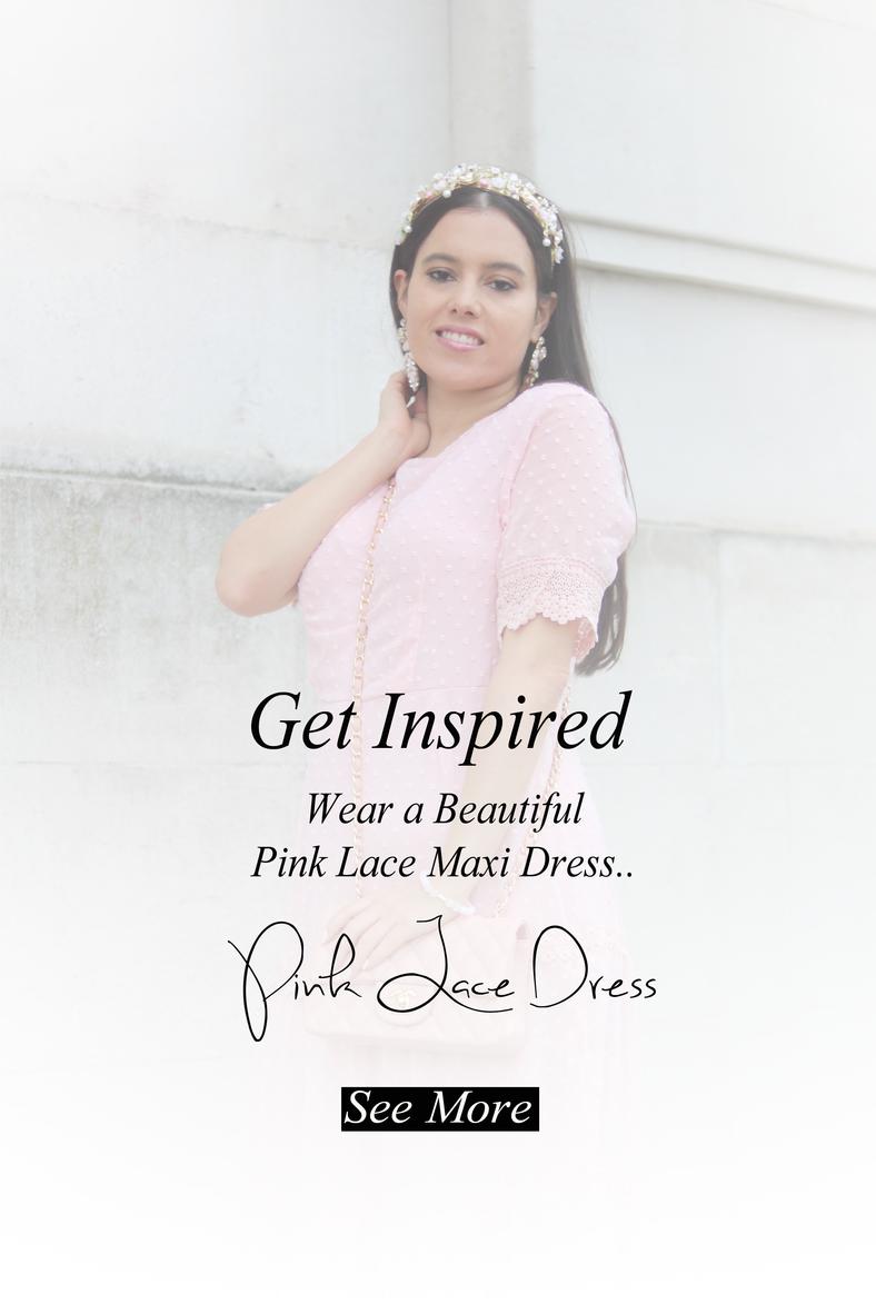 The most Beautiful Pink Maxi Dress..