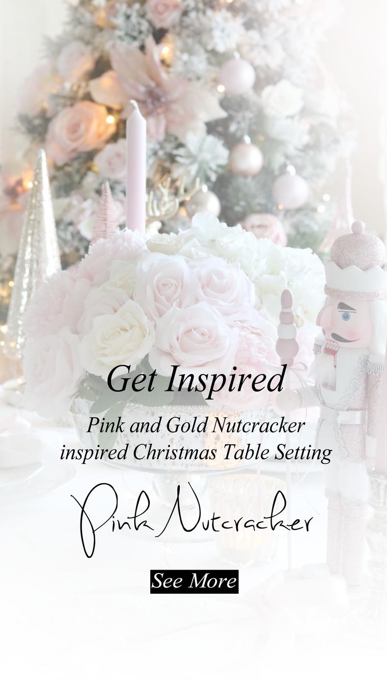 A Pink Nutcracker Table Setting..