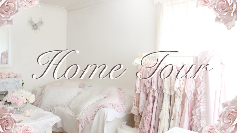 MY SHABBY CHIC PINK PRINCESS HOMETOUR