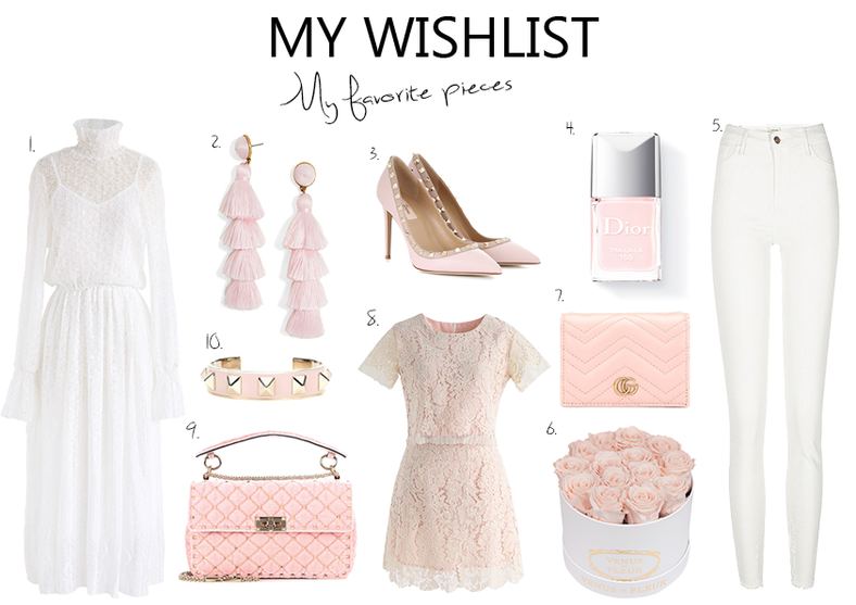 My Wishlist Pretty Pieces for Spring..
