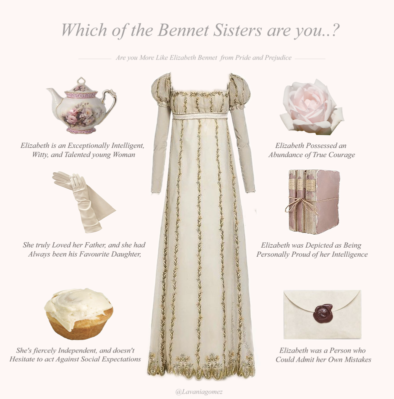 WHICH OF THE BENNET SISTERS ARE YOU..? QUIZ