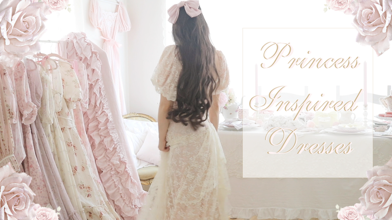 YOUTUBE VIDEO PRINCESS INSPIRED DRESSES..