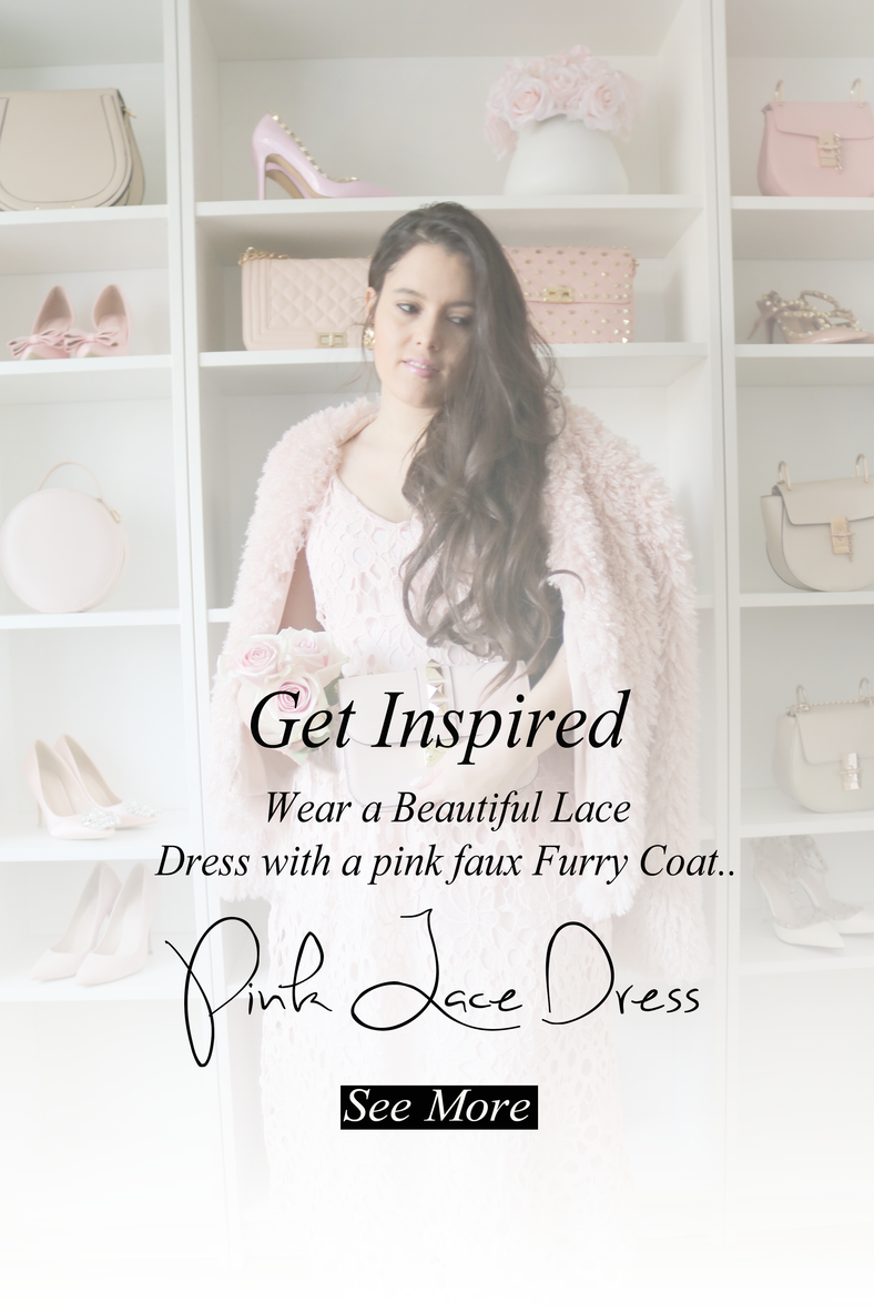 Pink Lace Summer Dress..