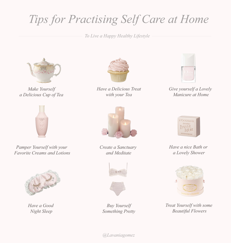 TIPS FOR PRACTISING SELF CARE AT HOME