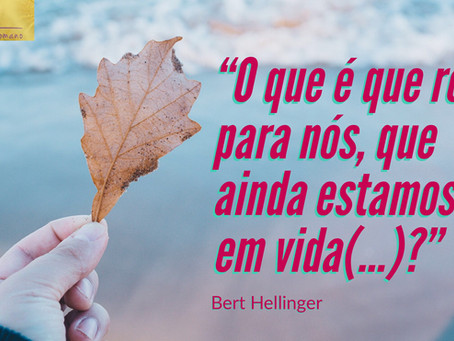 Os Mortos por Bert Hellinger