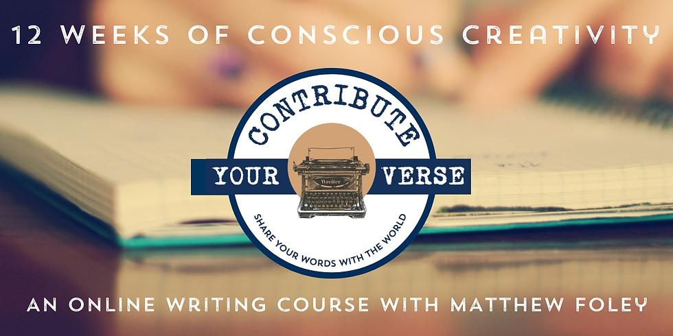 12 Weeks of Conscious Creativity