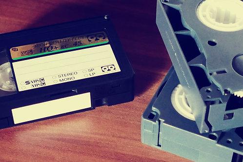 Tape Conversion- $12.99 per tape*