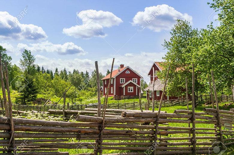 78580886-swedish-farm-in-the-old-idyllic