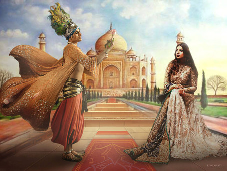 Mughal Shah Jahan's love into Afterlife