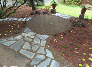 Moss Garden in Corvallis
