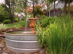 water trough fountain