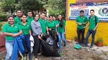 Estudiantes del Técnico Superior en Educación Ambiental, realizaron una pequeña labor social en el C