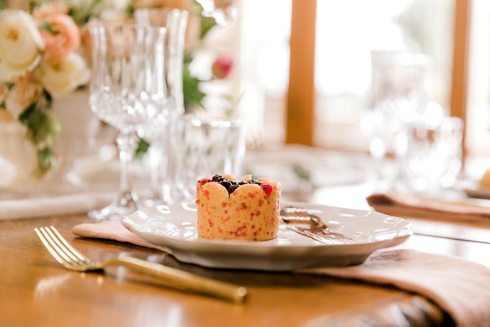 Red fruit charlotte - The Verandah Catering