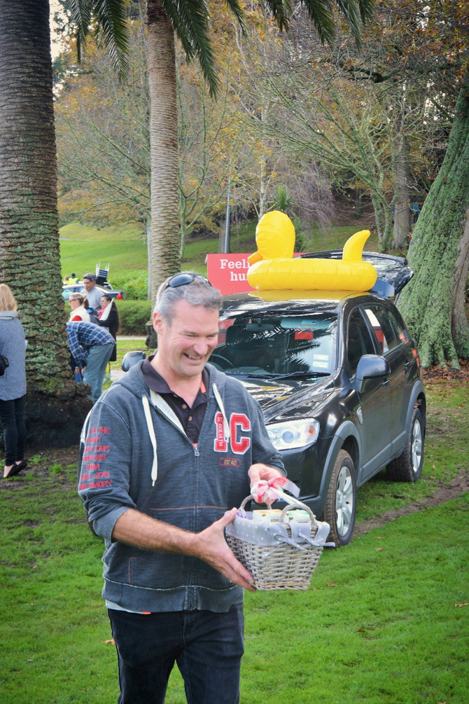 Rubber duck race, over 400 ducks were purchased, check out the photos.