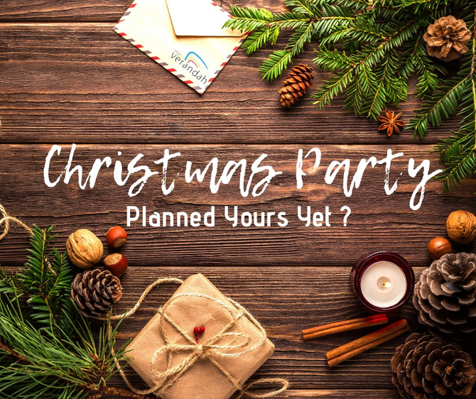 Planned Your Christmas Party Yet?
