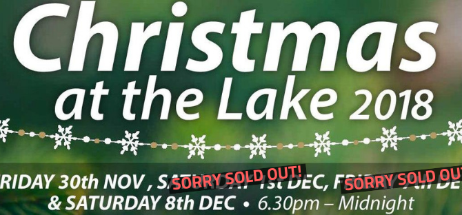 Selling Out Fast | Christmas At The Lake 2018