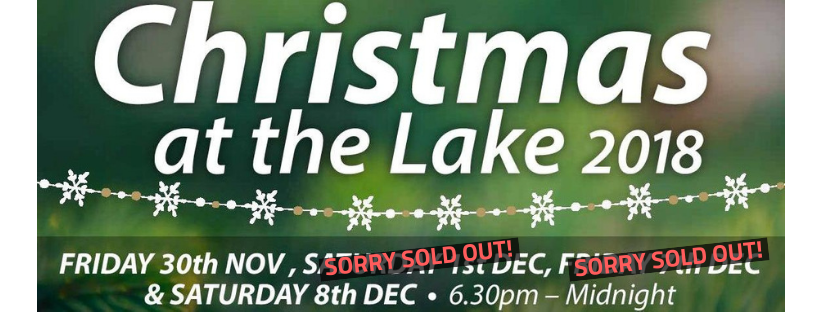 Christmas at the Lake 2018 is selling fast