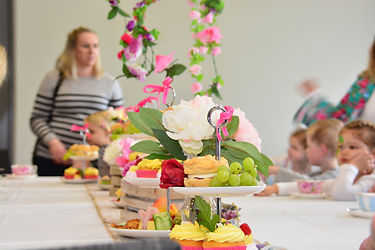 High Tea at The Verandah, Hamilton Lake