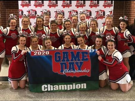 SHS Varsity Cheerleaders earn top award