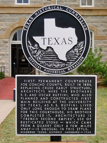 Courthouse Marker