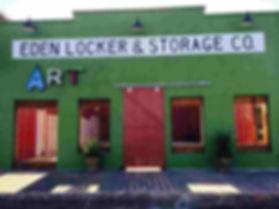 front door at green apple eden texas live music concert venue
