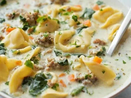 Gwen's Sausage Tortellini Soup
