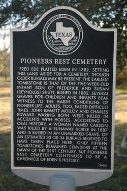 Pioneers Rest Memorial