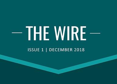 The Wire Newsletter Header