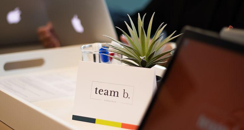 Team b. Card