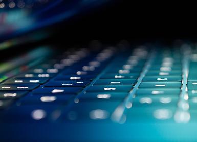 Close-up of Keyboard Keys