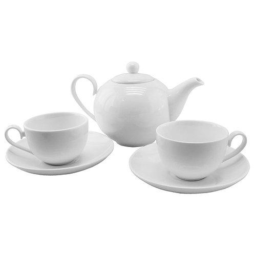 Чайный набор Norte: чайник и две чайные пары