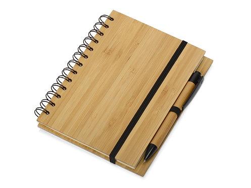 Набор Bamboo: блокнот и ручка