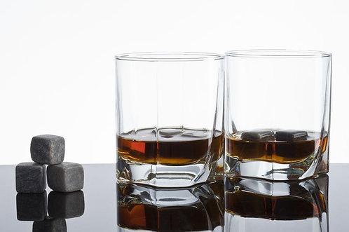 Набор бокалов для виски с охлаждающими камнями Solano