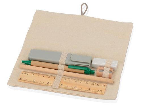 Набор Ethno: пенал, ручка, карандаш, маркер