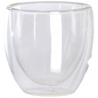 Набор из 2 стеклянных чашек с двойным дном Sarma