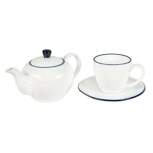Набор Berg: чайная пара и чайник в подарочной упаковке