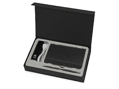 Набор Carbon: пауэрбэнк, блокнот, ручка