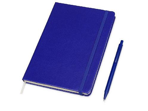 Набор Alpha: блокнот формата А5, ручка
