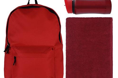 Набор Springa: рюкзак, полотенце и бутылка
